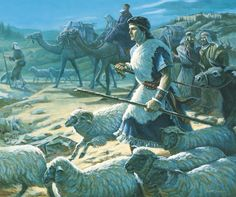Book of Mormon. Lehi is commanded to flee into the wilderness.
