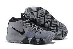2018 Nike Kyrie 4 Wolf Grey/Black For Sale | Air Jordans 2018