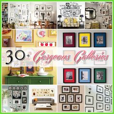 The Cottage Market: Photo Wall Gallery Feature 30+ Gorgeous Galleries