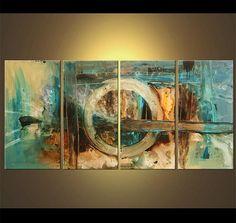 Usted está comprando una pintura hecho por encargo que será similar al que ves aquí, que ya he vendido. Me tomará 5 días hábiles para crearlo. La pintura estará lista para colgar, firmado por mí y entregado directamente en mi estudio. Si te gusta la composición y quisiera añadir, cambiar o eliminar colores, se puede hacer a petición.  Nombre de la pintura: The Choice Tamaño: 60 x 30 (4 x 15 x 30) Medio: Acrílico sobre lienzo envuelto Colores: Marrón claro, azul marino, crema, moho  La…