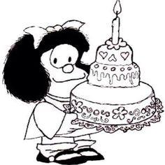 50 Cumpleaños Mafalda ¡¡ #Happy_Birthday !!