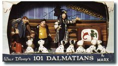 "101 Dalmatians Series Lists.  ""Hell Hall"" 101 DALMATIANS Playset Disneykins"