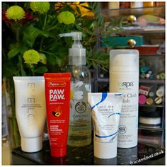 Skincare products I go to when my skin is not playing ball!