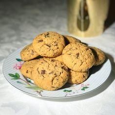 Gluten Free Cookies, Gluten Free Recipes, Paleo Dessert, Lchf, Muffin, Yummy Food, Sweets, Breakfast, Desserts