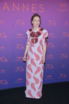Jury member Maren Ade attends the Opening Gala Dinner during the 70th annual Cannes Film Festival at Palais des Festivals on May 17, 2017 in Cannes, France.