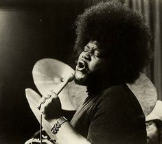 Buddy Miles (George Miles) (September 4, 1947 - February 26, 2008) American drummer and singer (Santana).