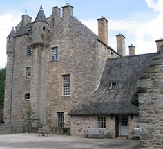 Another view of Ferniehirst Castle (KERR family)