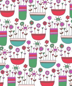 Pink Parakeet: Bank Holiday Sunday = garden and doodle time!
