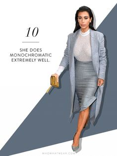 20 Reasons I Think Kim Kardashian Is a Legit Fashion Icon via @WhoWhatWear