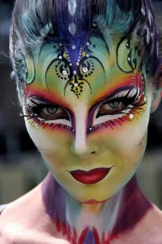 #faceNbodyPaint Face paint
