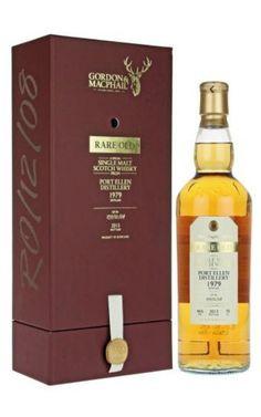 Rare Old Port Ellen 1979 Single Malt Scotch Whisky Scotch Whiskey, Bourbon Whiskey, Spirit Drink, Single Malt Whisky, Fun Drinks, Beverages, Ms Gs, Distillery, Whiskey Bottle