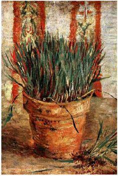 Vincent van Gogh Pinturas, Óleo sobre tela. París, Francia: