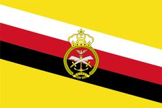 War Flag of Brunei Darusssalam National Stadium, National Flag, Independence Day Photos, Bandar Seri Begawan, Arts And Crafts Projects, Borneo, Southeast Asia, Travel Posters