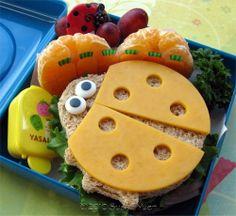 Ladybug sandwich
