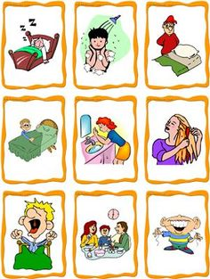 daily routine clipart free - Google leit