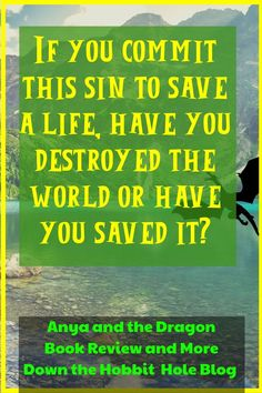 """""""If you commit this sin to save a life, have you destroyed the world or have you saved it?"""" Anya and the Dragon quote. Anya is a simple farm girl. When a family emergency arises, Anya must figure out how to get enough money to help her family. This leads her on a path that crosses into the realm fantastical adventure. If you've got a kiddo older than 8 who loved the movie Raya and the Last Dragon- don't miss this great YA Read! Check out more here on the blog! Best Quotes From Books, Quotes From Novels, Book Quotes, Me Quotes, Death Of A Parent, Dragon Quotes, Why Read, Family Emergency, Literature Quotes"""