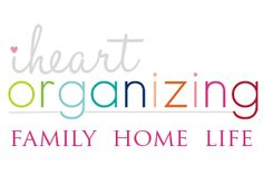 Love this blog!!  If I had the money, my house would be this organized!  Step by step, I'll get there!