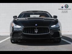 2017 Maserati Ghibli delivers 404 hp and the handling agility of Maserati intelligent all-wheel drive, gripping the road for maximum performance