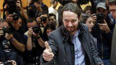 Líder de Podemos envió saludo a Verónika Mendoza