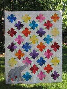 Canuck Quilter: Blooms finished and gifted
