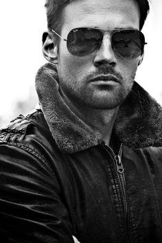 aviator jacket, aviator shades