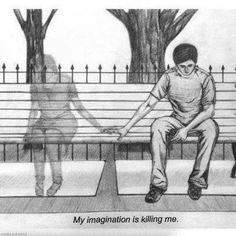the feeling of loneliness or between dream and reality - . - the feeling of loneliness or between dream and reality – - Sad Drawings, Couple Drawings, Pencil Art Drawings, Art Drawings Sketches, Art Triste, Arte Obscura, Sad Art, Love Images, Heart Art