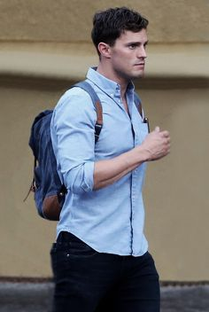 Jamie Dornan on set of Anthropoid in Prague - 29 July 2015