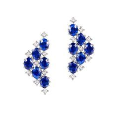 2 ct Princess blanc saphir Boucles d/'oreille Set in solid sterling silver
