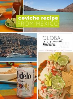 Global kitchen: ceviche recipe from Mexico