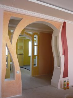 House Front Wall Design, House Arch Design, House Outer Design, Living Room Partition Design, Room Partition Designs, Bedroom False Ceiling Design, Room Door Design, Bungalow House Design, Home Room Design