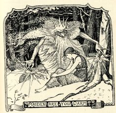 The yellow fairy book (London, New York, 1894). Illustratios by H. J. Ford. Morozko.