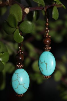 Nice! wire wrapped jewelry handmade antique copper by shahrinalam, $14.00