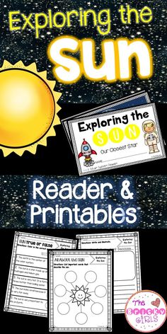 The Sun- Reader and Printables