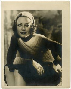 Rare 1930 Large Format Joan Crawford Pre-Code George Hurrell Glamour Photograph