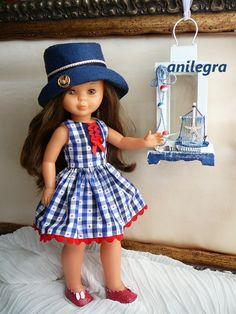 ANILEGRA COSE PARA NANCY American Girl, American Dolls, Vestidos Nancy, Nancy Doll, Barbie, Gotz Dolls, Wellie Wishers, Baby Alive, Little Darlings