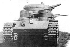 T-35-1 - the first prototype of the T-35.