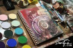 Julie Fei-Fan Balzer using Pan Pastels