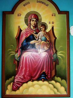 Jesus Mother, Mother Mary, Goddess Lakshmi, Virgin Mary, My Family, Prayers, Spirituality, Painting, Image