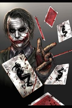Why so serious? I mean at least u know what's not yours anymore. The jokers dead and gone.