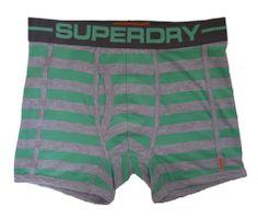 Just In Superdry Mens Sport Boxer - Stripey Grey Marl/Mint - Single Pack – Moyheeland Traders Superdry Mens Sport Boxer - Single Pack £17.50 with free UK P&P! www.moyheelandtraders.com