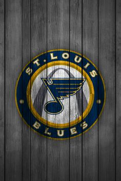 iPhone Wallpaper | St. Louis Blues Alternative (Wood)