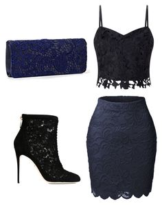 """""""Unbenannt #160"""" by laurakantarevic on Polyvore featuring Mode, LE3NO, Dolce&Gabbana und Lipsy"""