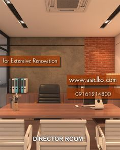 Want to go for an Extensive Renovation for your Office? Call one of the best Architectural Designers in your neighborhood.