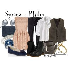 """""""Syrena + Philip"""" by lalakay on Polyvore  Love the pink dress"""