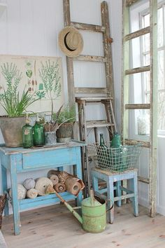 vintage summer decor