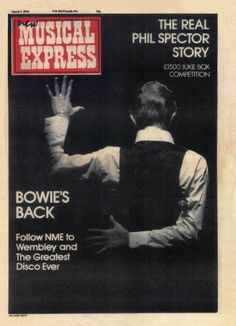 """bowiepills: """"David Bowie - Magazine covers, 1976 See others here """""""