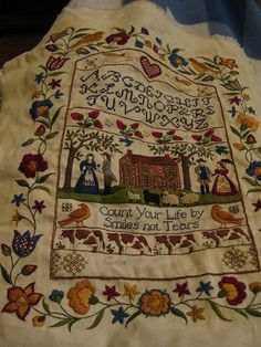 Sampler by Candace Shaw, via Flickr