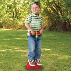 Hop & Squeak Pogo Jumper, 2012 Parents' Choice Award Recommanded #Toy