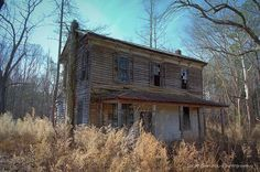 Federal-style home of Dr. Littleberry Batchlor - Halifax County, North Carolina - from Abandoned, Old and Interesting Places - North Carolina