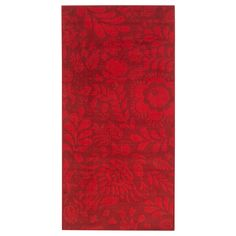 IKEA - VINTER Rug, low pile, red, Ideal for high traffic areas like kitchens and hallways since the rug is easy to vacuum. Durable, stain resistant and easy to care for since the rug is made of synthetic fibers. Oriental Pattern, Oriental Rug, Entryway Runner, Recycling Facility, Professional Carpet Cleaning, Shade Flowers, Shelf Liners, Types Of Flooring, Houses